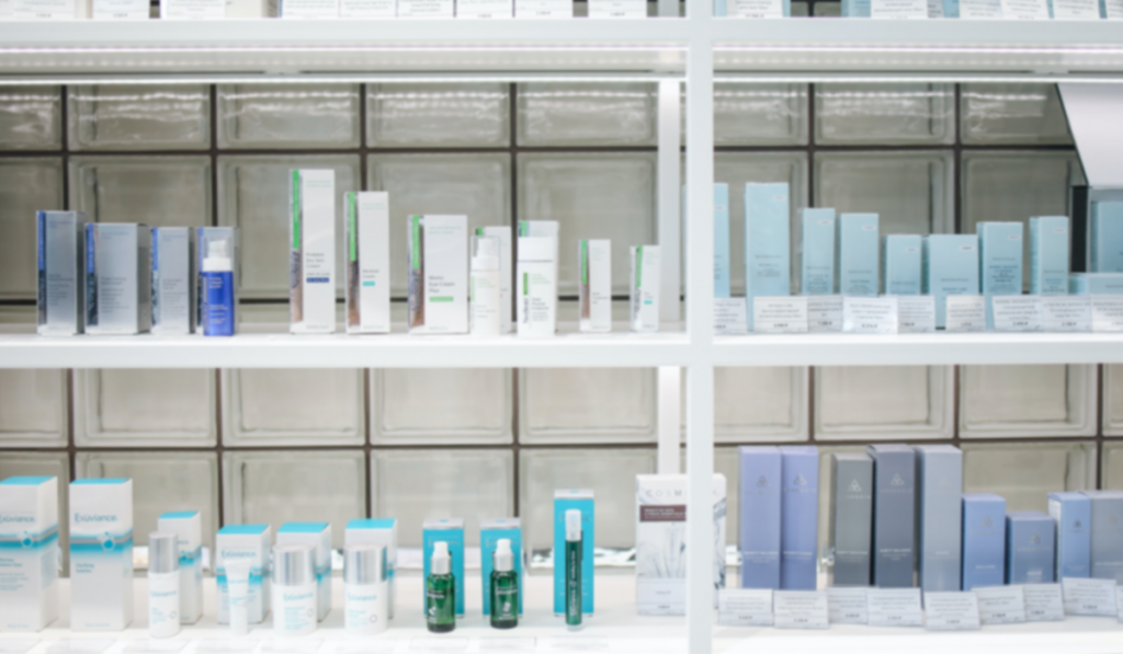 shelves of products used in a Brand Loyalty Program